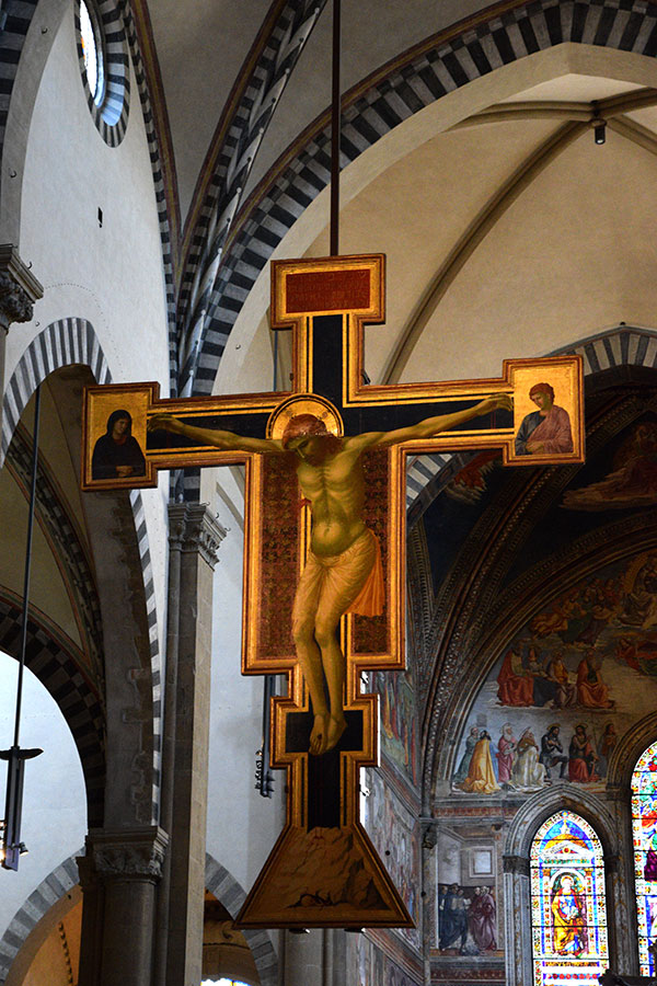 Santa Maria Novella - Crucifix by Giotto