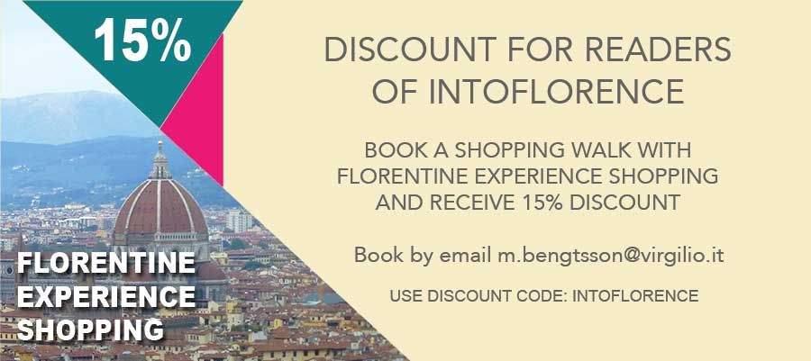 Florentine Experience Shopping Discount