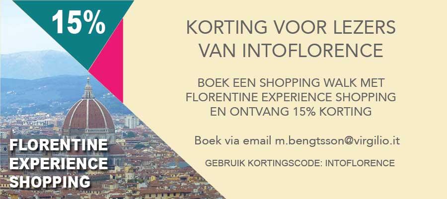 Florentine Shopping Experience Korting