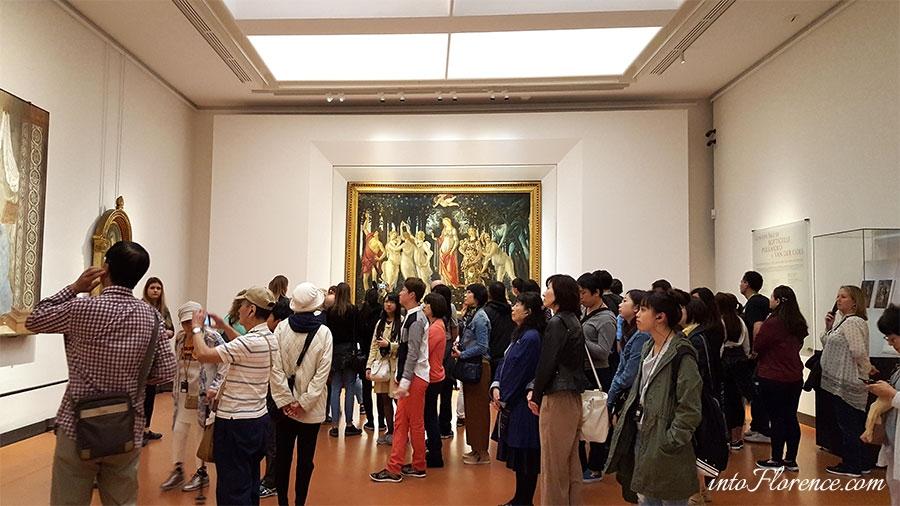 Tips Uffizi Florence
