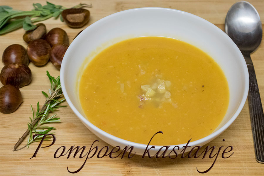 pompoen kastanje soep